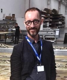 Lorenzo Cutùli, artista che ha formato la copertura del Duomo di Ferrara