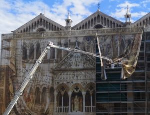 Gruppo Masserdotti - copertura del Duomo di Ferrara
