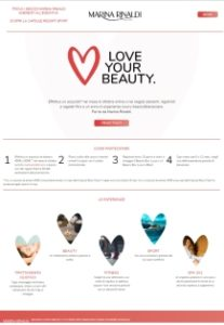 Campagna Love Your Beauty con Marina Rinaldi by Tlc