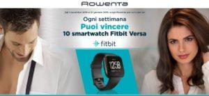 Rowenta Fitbit concorso