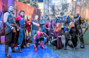 """Super Heroes Show on Tour"" Le Befane Shopping Centre"