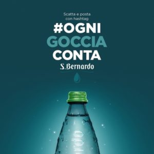"""Scatta e posta"" #ognigocciaconta di Acqua S.Bernardo"