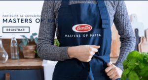 """Barilla concorso misto """"Vinci ogni giorno la tua sfida in cucina"""""""