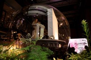 La immersive temporary exhibiton per Florena Fermented Skincare